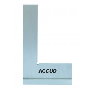 90 FLAT EDGE SQUARE WITH WIDE BASE DIN875 GRADE 0 75X50MM