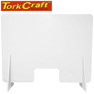 ACRYLIC COUNTER SCREEN C 800X600MM WITH SLOT
