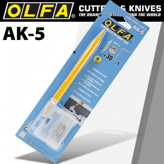 OLFA ART KNIFE PROFESSIONAL WITH SPARE BLADES BLISTER