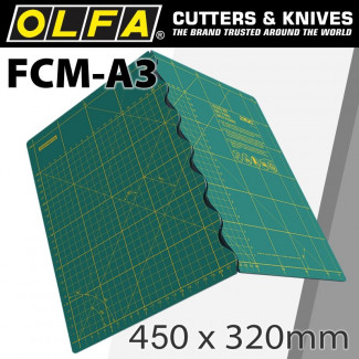 FOLDING MAT FOR ROTARY CUTTERS 450X320X2.0MM