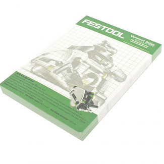 FESTOOL NOTE PAD A6 (96 PAGES)