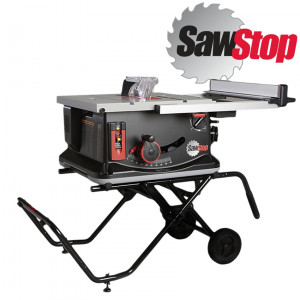 SAWSTOP JOBSITE SAW 250MM WITH MOBILE CART