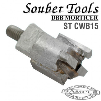 CARBIDE TIPPED CUTTER 14.6MM /LOCK MORTICER FOR WOOD SCREW TYPE