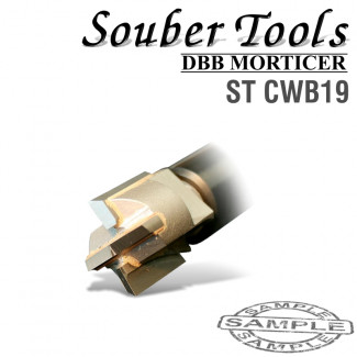 CARBIDE TIPPED CUTTER 19MM /LOCK MORTICER FOR WOOD SCREW TYPE