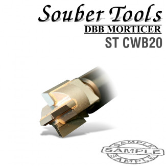 CARBIDE TIPPED CUTTER 20MM /LOCK MORTICER FOR WOOD SCREW TYPE