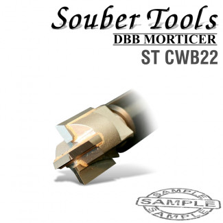 CARBIDE TIPPED CUTTER 22MM /LOCK MORTICER FOR WOOD SCREW TYPE