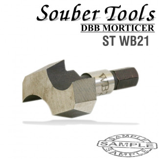 CUTTER 20.6MM /LOCK MORTICER FOR WOOD SNAP ON