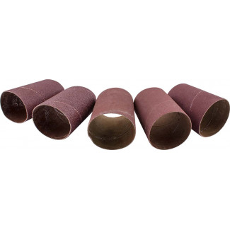 76MM SPINDLE SLEEVE 5PCE SET 60.80.100.150.240 GRIT